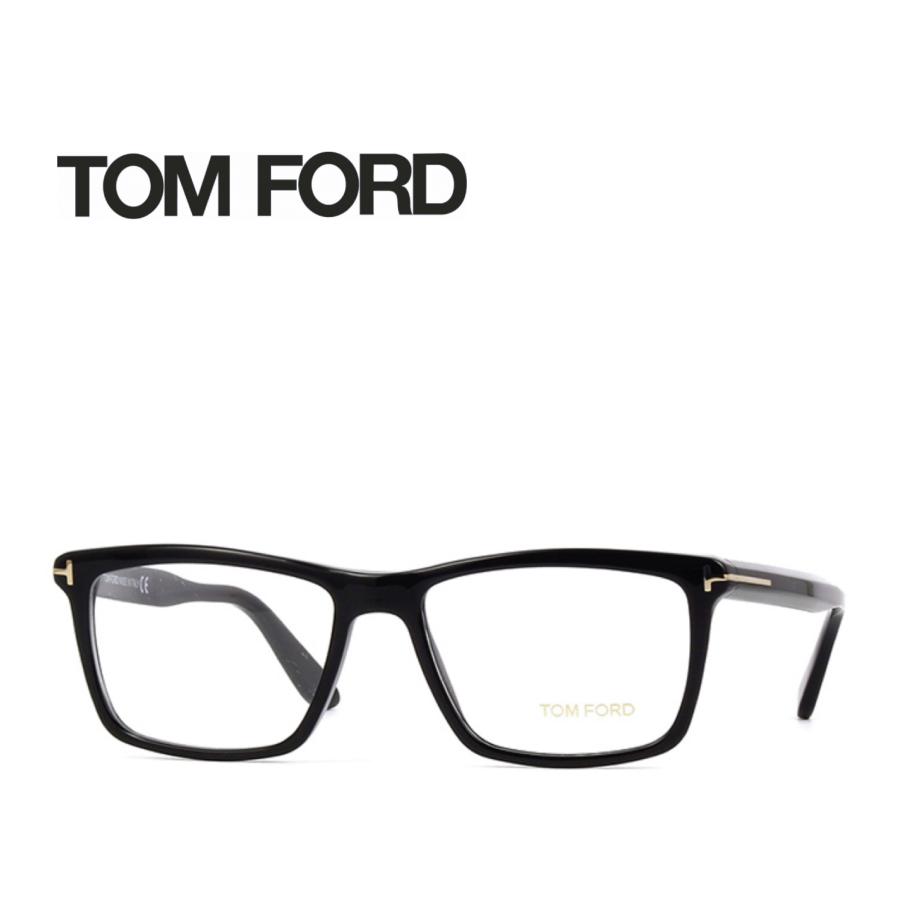 レンズ加工無料 送料無料 TOM FORD トムフォード TOMFORD メガネフレーム 眼鏡 TF5407 FT5407 001 ユニセックス メンズ レディース 男性 女性 度付き 伊達 レンズ 新品 未使用