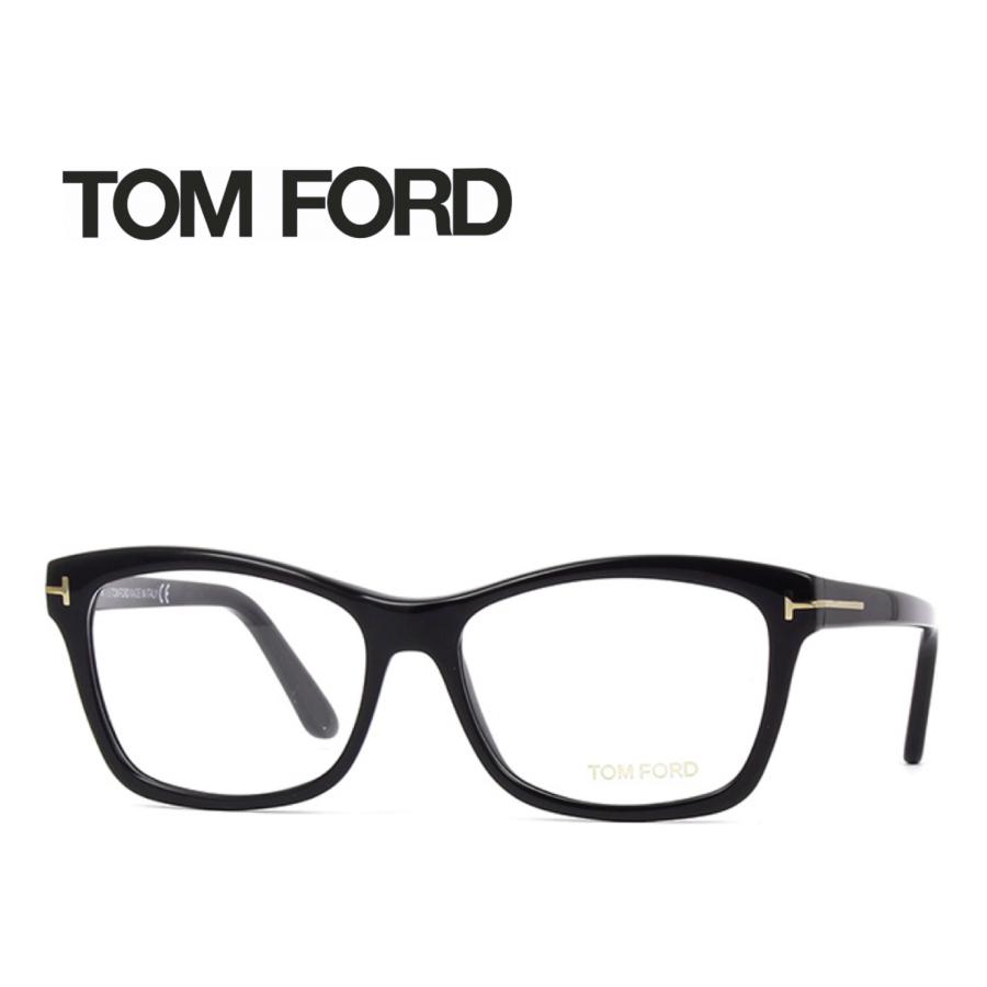 【8/1限定 最大2,000円OFFクーポンあり!】レンズ加工無料 送料無料 TOM FORD トムフォード TOMFORD メガネフレーム 眼鏡 TF5424 FT5424 001 ユニセックス メンズ レディース 男性 女性 度付き 伊達 レンズ 新品 未使用