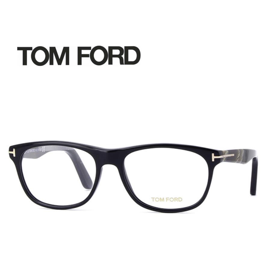 レンズ加工無料 送料無料 TOM FORD トムフォード TOMFORD メガネフレーム 眼鏡 TF5431 FT5431 001 ユニセックス メンズ レディース 男性 女性 度付き 伊達 レンズ 新品 未使用
