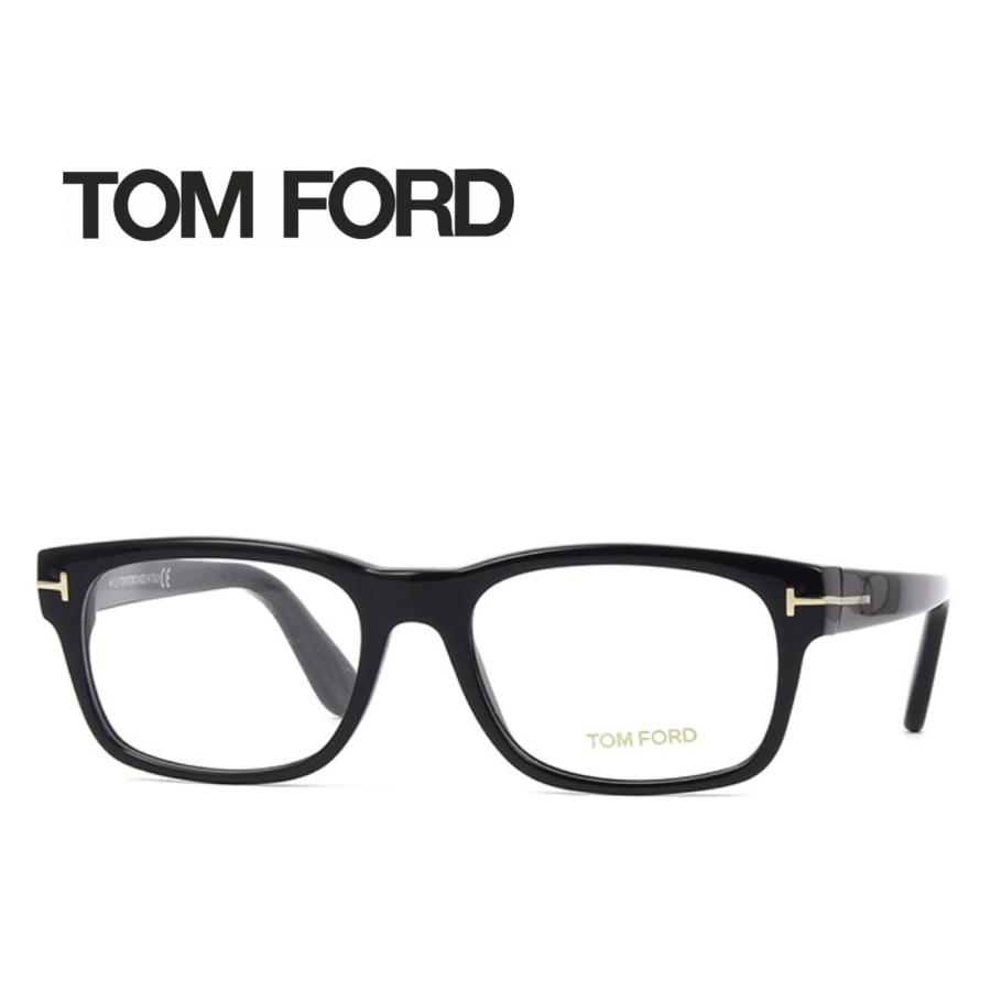 レンズ加工無料 送料無料 TOM FORD トムフォード TOMFORD メガネフレーム 眼鏡 TF5432 FT5432 001 ユニセックス メンズ レディース 男性 女性 度付き 伊達 レンズ 新品 未使用