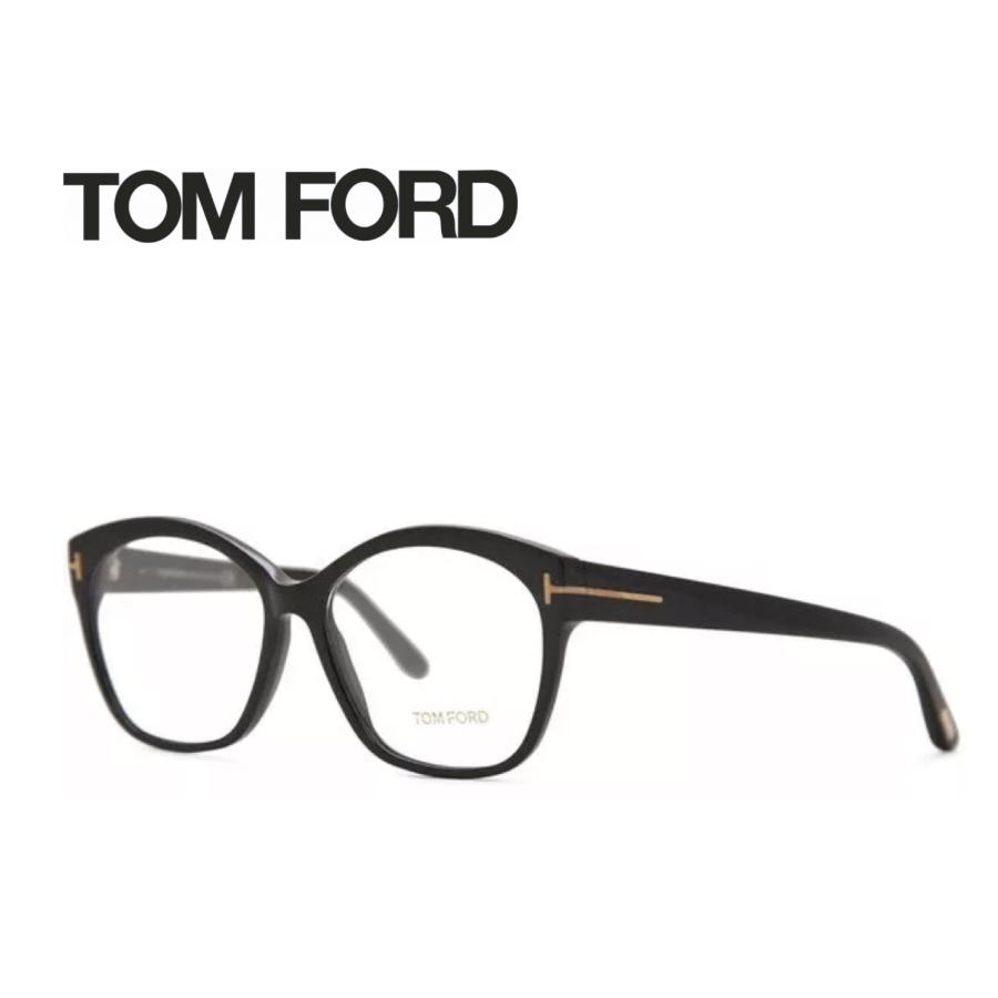 レンズ加工無料 送料無料 TOM FORD トムフォード TOMFORD メガネフレーム 眼鏡 TF5435 FT5435 001 ユニセックス メンズ レディース 男性 女性 度付き 伊達 レンズ 新品 未使用