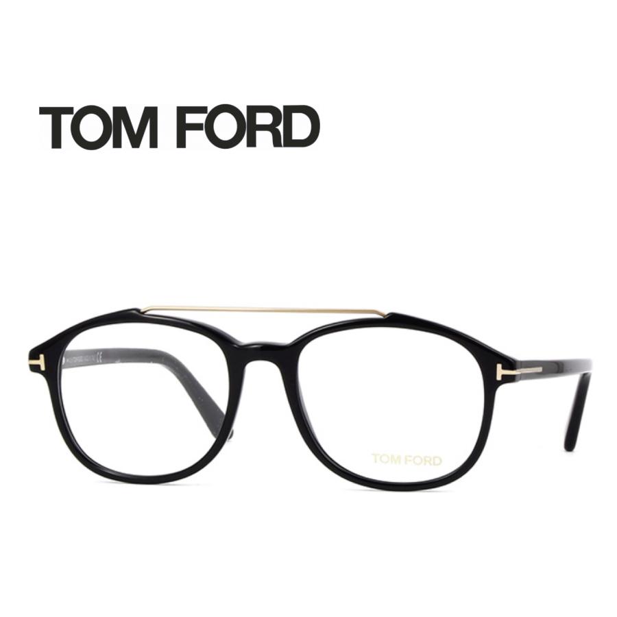 レンズ加工無料 送料無料 TOM FORD トムフォード TOMFORD メガネフレーム 眼鏡 TF5454 FT5454 001 ユニセックス メンズ レディース 男性 女性 度付き 伊達 レンズ 新品 未使用