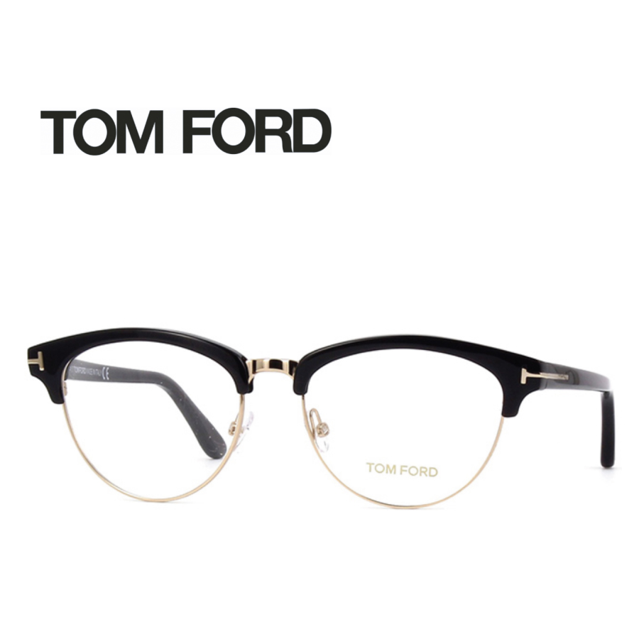 度入りレンズ・伊達レンズ加工無料 レンズ加工無料 送料無料 TOM FORD トムフォード TOMFORD メガネフレーム 眼鏡 TF5471 FT5471 001 ユニセックス メンズ レディース 男性 女性 度付き 伊達 レンズ 新品 未使用
