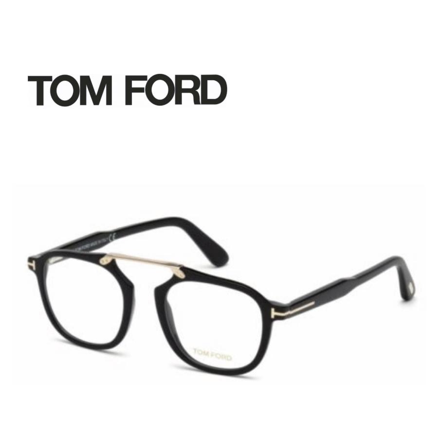 レンズ加工無料 送料無料 TOM FORD トムフォード TOMFORD メガネフレーム 眼鏡 TF5495 FT5495 001 ユニセックス メンズ レディース 男性 女性 度付き 伊達 レンズ 新品 未使用