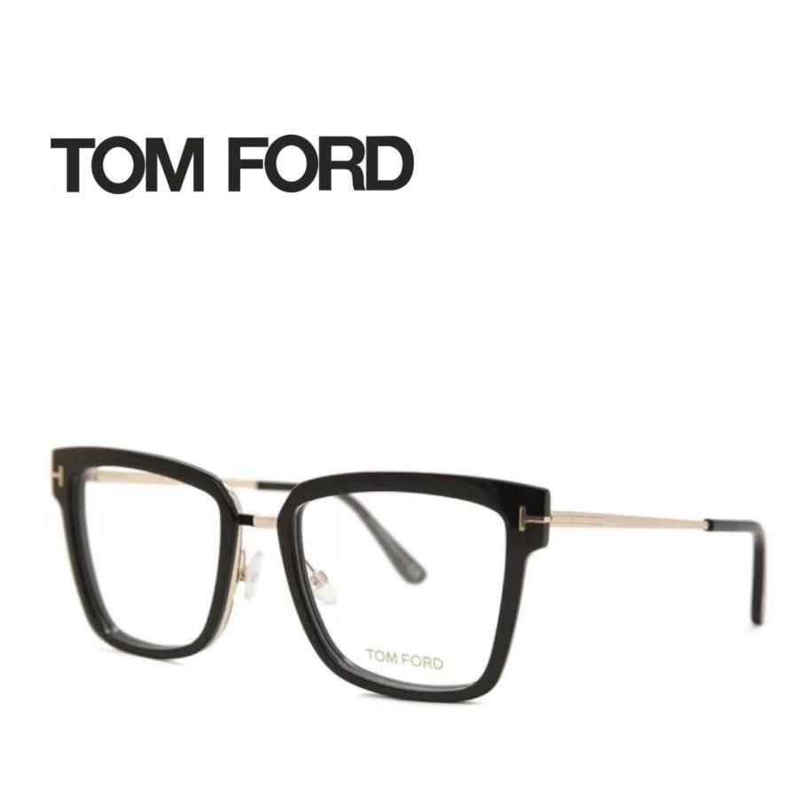 レンズ加工無料 送料無料 TOM FORD トムフォード TOMFORD メガネフレーム 眼鏡 TF5507 FT5507 001 ユニセックス メンズ レディース 男性 女性 度付き 伊達 レンズ 新品 未使用