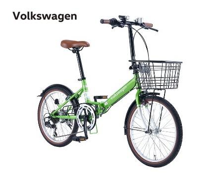 Volkswagen(フォルクスワーゲン) Beetle VW-206G 20インチ 折りたたみ自転車 【送料無料】