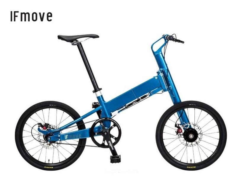 Pacific Cycles Japan(パシフィック) IF move Single Speed/Belt Drive 【送料無料】折りたたみ自転車