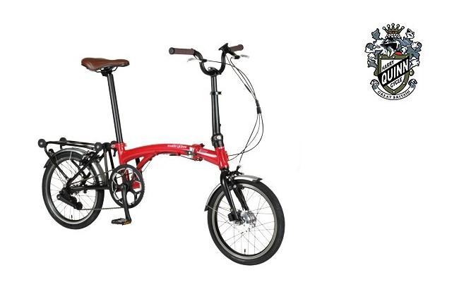 Harry Quinn PORTABLE E-BIKE 16インチ 電動アシスト自転車 折りたたみ自転車 【送料無料】