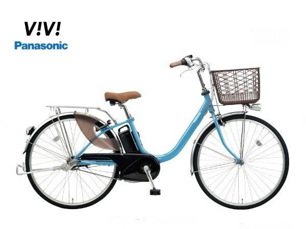 【スペシャル特別価格】!ビビLU パナソニック 電動アシスト自転車 2018モデル 12.0Ahバッテリー 【送料無料】