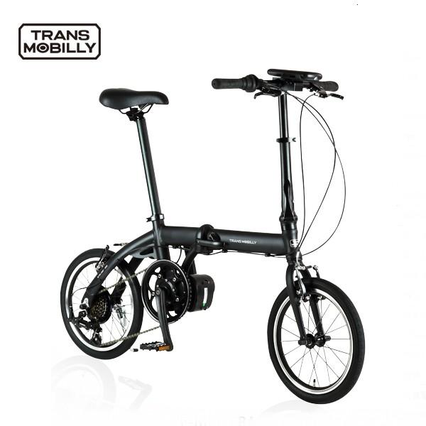 最小・最軽量クラスの電動アシスト自転車 16インチ、6SPPED仕様が登場  TRANS MOBILLY ULTRA LIGHT E-BIKE 16インチ 6SPEED 電動アシスト自転車 折りたたみ自転車 【送料無料】