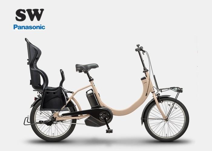 SW チャイルドシート装着仕様 パナソニック 2019モデル 電動アシスト自転車 【送料無料】, 生成りな暮らしのご提案/キナル 3d994523