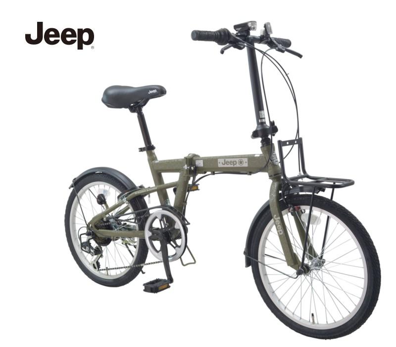 JEEP (ジープ) 2020モデル JE-206G 20インチ 折りたたみ自転車