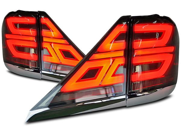 アルファード ヴェルファイア 20系 シーケンシャルウインカー LEDテールランプ H20.5~H27.1 VLAND製