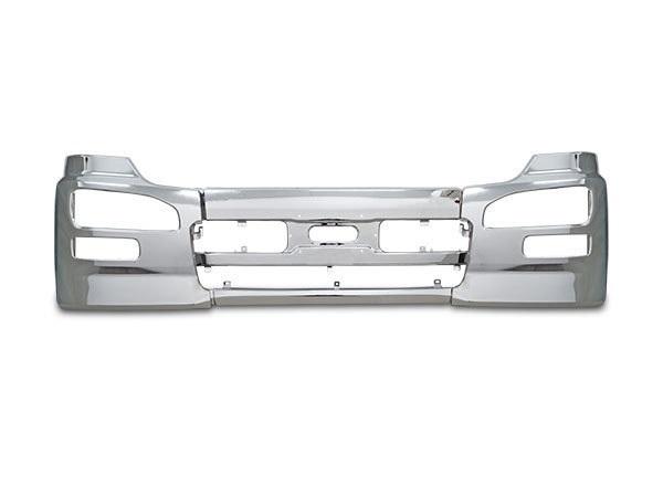 クオン 日産UD メッキフロントバンパー エアダム付き車用 H17.1~H29.3