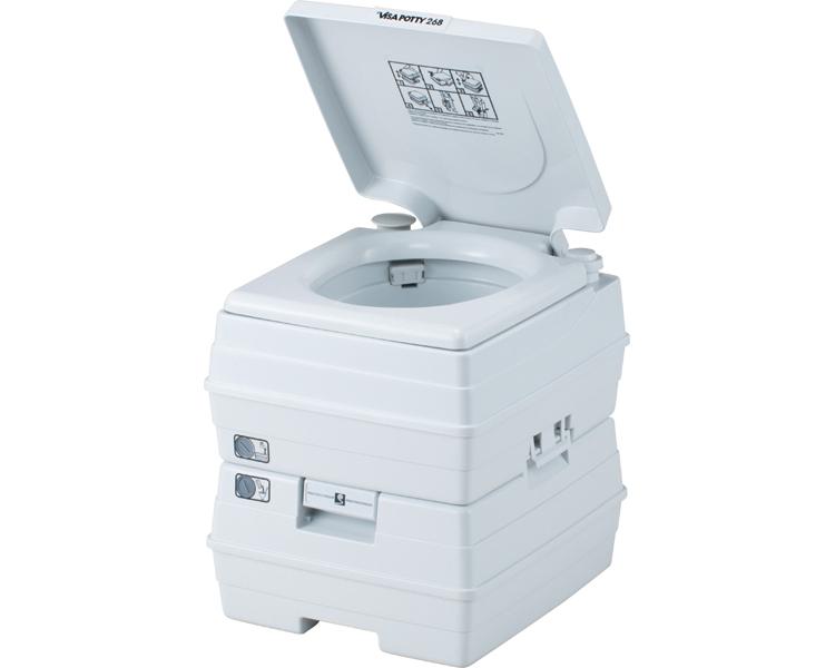ビザ・ポータブル水洗トイレ 24Lタイプ/ V24L