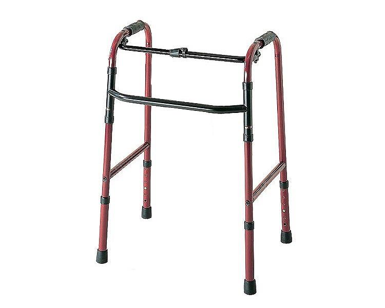 【送料無料】折りたたみ式歩行器 C2021