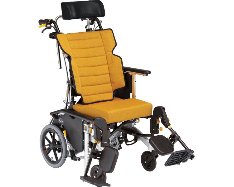 【送料無料】リクライニング車椅子 マイチルト・コンパクト-3D MH-CR3D/ F-1[ 株式会社 松永製作所 ]