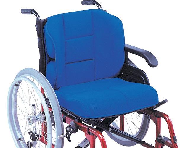 【送料無料】車椅子クッション FC-アジャスト フルセット(座クッション+背クッション+サイドパット2個+骨盤パット2個)