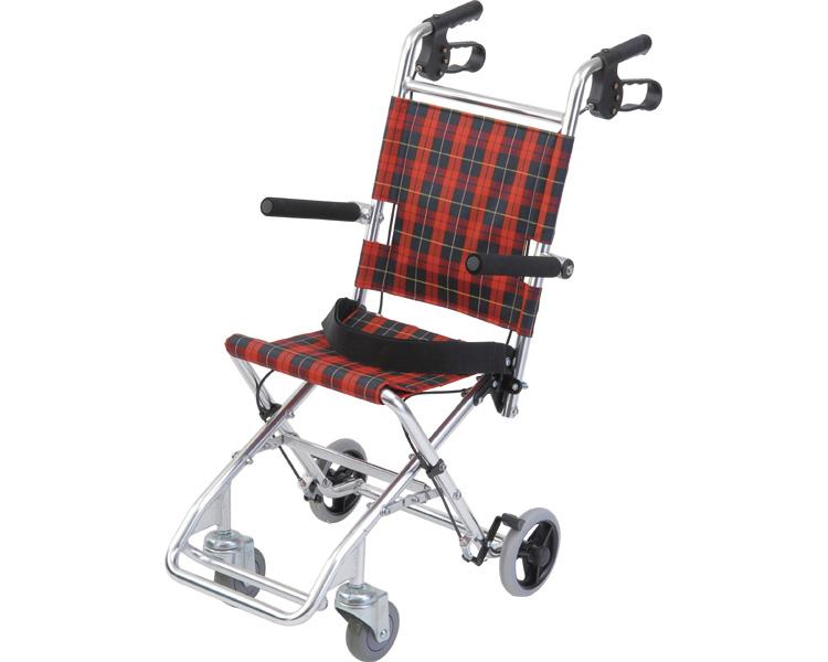 【送料無料】コンパクト車椅子 介助式小型車いす チビポン/ HTB-AC1[ 株式会社 美和商事 ]