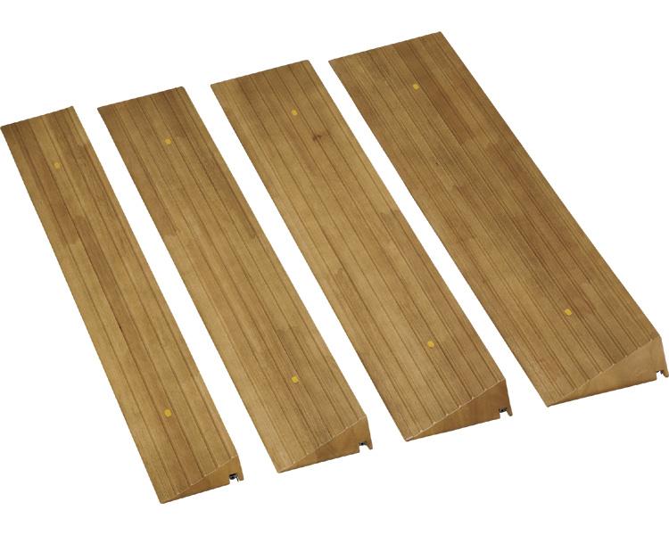 屋内用スロープ 段ない・ス ショート/ 629-065 木製タイプ[ 株式会社 シコク ]