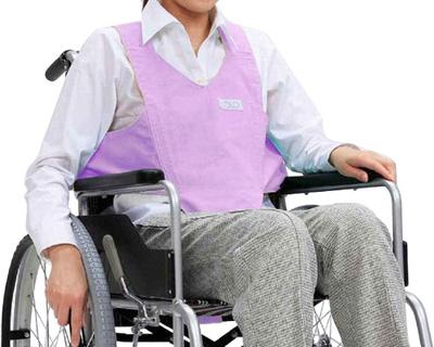 メーカー直売 座位姿勢の保持と看護の省力化に役立ちます 送料無料 車いす用ワンタッチベルト キーパーII 葛城織 リバーシブル 02036571 商舗
