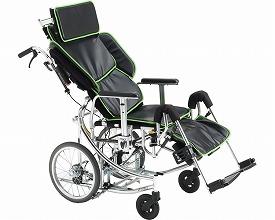 【送料無料】多機能リクライニング車椅子 NEXTROLLER_spII(ネクストローラーシルバーパッケージツー)/ ブラック[ ミキ ]