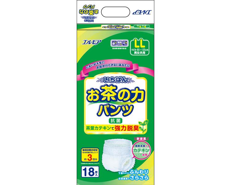 【送料無料】いちばんお茶の力パンツ LL / 477431 18枚 [ カミ商事 株式会社 ]