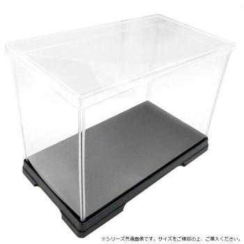 ●【送料無料】透明プラスチックヨコ長ケース 40×21×24cm 6個セット「他の商品と同梱不可/北海道、沖縄、離島別途送料」
