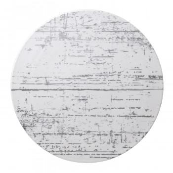 ●【送料無料】【代引不可】Luzerne CANVAS DRIZZLE ドリズル 30.5cm ショープレート PLATINUM DR5132PL「他の商品と同梱不可/北海道、沖縄、離島別途送料」