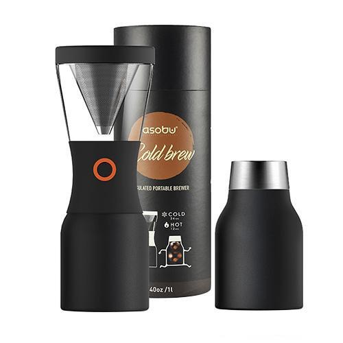 ●【送料無料】asobu コールドブリュー 水出しコーヒーメーカー ANDCB-BK「他の商品と同梱不可/北海道、沖縄、離島別途送料」