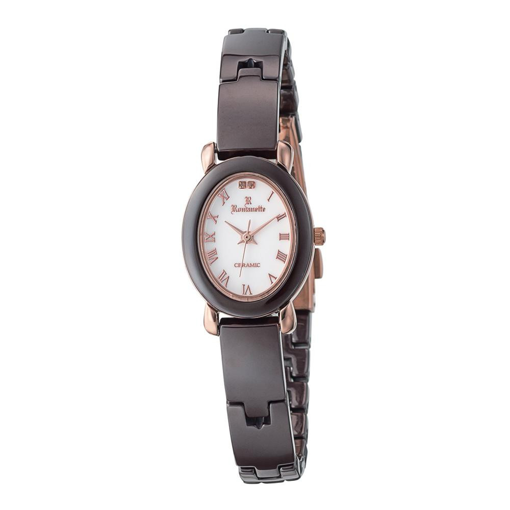 ●【送料無料】ROMANETTE(ロマネッティ) レディース 腕時計 RE-3528L-02「他の商品と同梱不可/北海道、沖縄、離島別途送料」