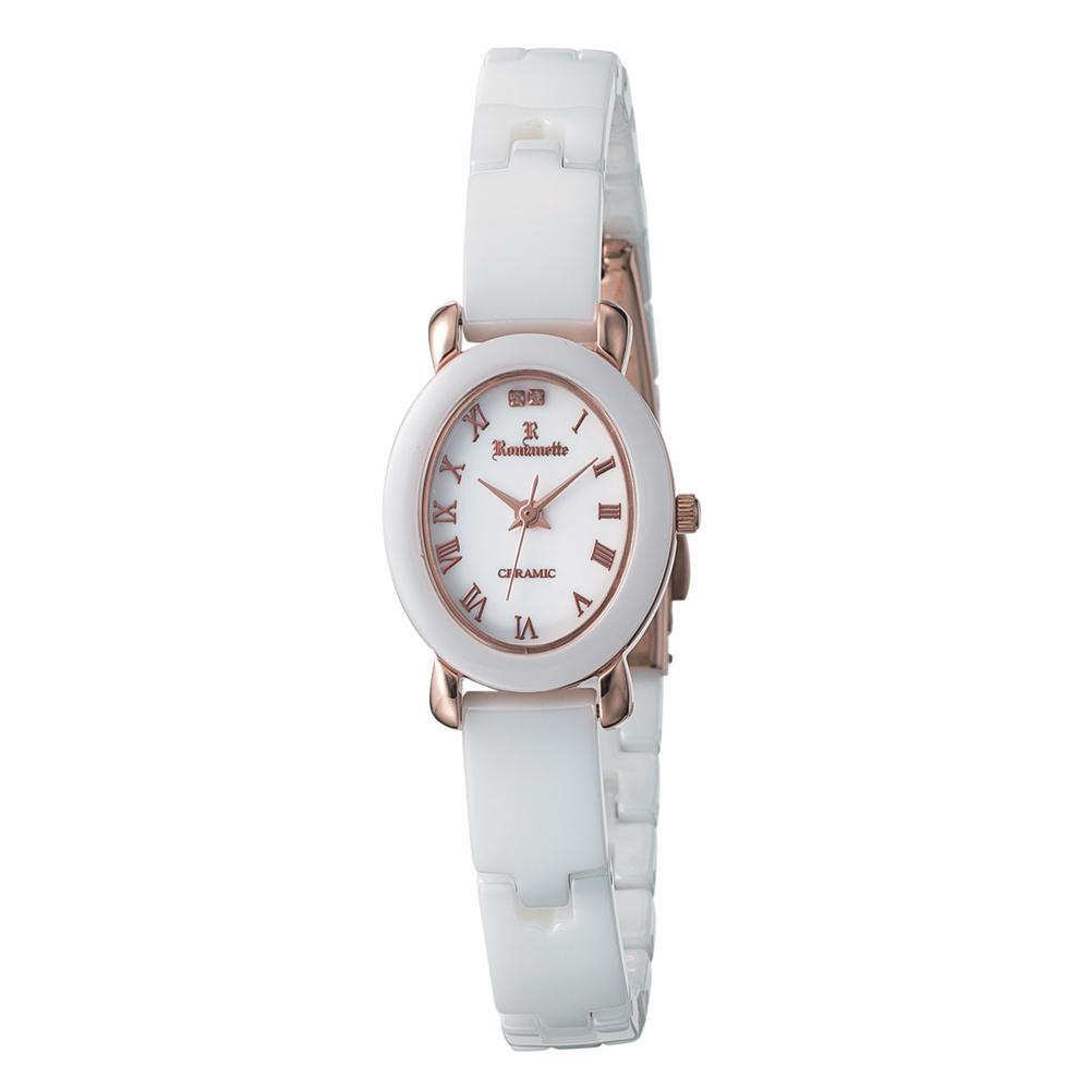 ●【送料無料】ROMANETTE(ロマネッティ) レディース 腕時計 RE-3528L-10「他の商品と同梱不可/北海道、沖縄、離島別途送料」