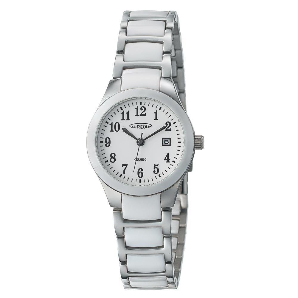 ●【送料無料】AUREOLE(オレオール) セラミック レディース 腕時計 SW-611L-03「他の商品と同梱不可/北海道、沖縄、離島別途送料」