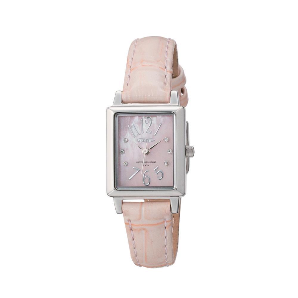 ●【送料無料】AUREOLE(オレオール) 日本製 レディース 腕時計 SW-590L-G「他の商品と同梱不可/北海道、沖縄、離島別途送料」