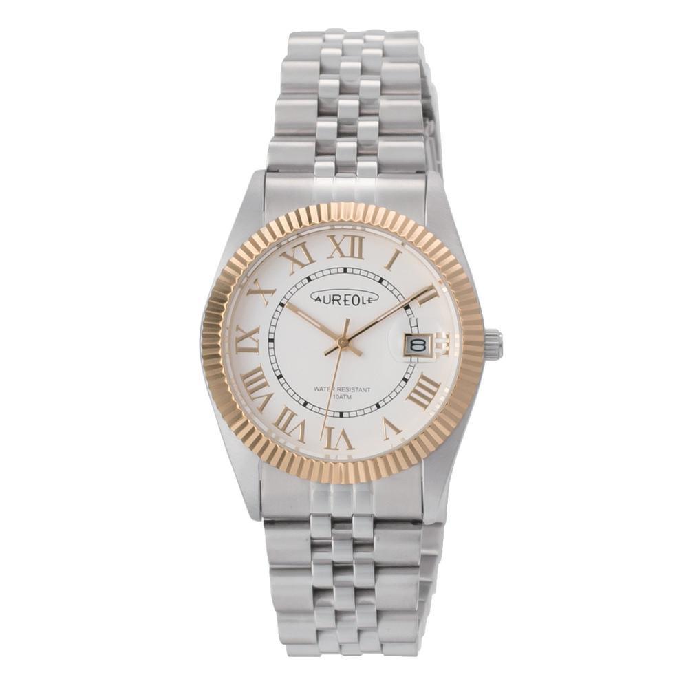 ●【送料無料】AUREOLE(オレオール) 日本製 メンズ 腕時計 SW-592M-D「他の商品と同梱不可/北海道、沖縄、離島別途送料」