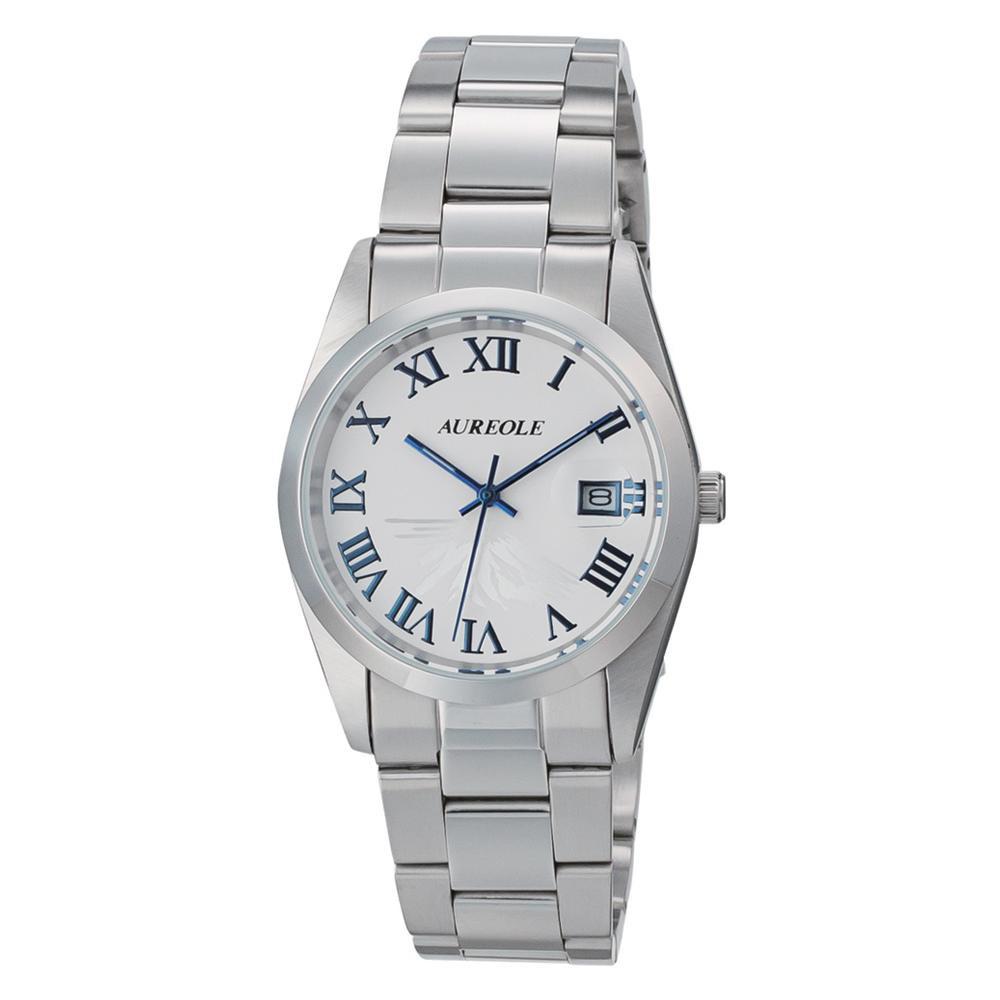 ●【送料無料】AUREOLE(オレオール) 日本製 メンズ 腕時計 SW-591M-D「他の商品と同梱不可/北海道、沖縄、離島別途送料」