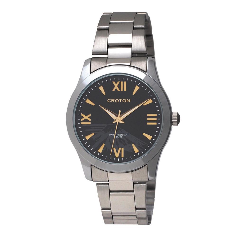 ●【送料無料】CROTON(クロトン) 日本製 メンズ 腕時計 RT-168M-A「他の商品と同梱不可/北海道、沖縄、離島別途送料」