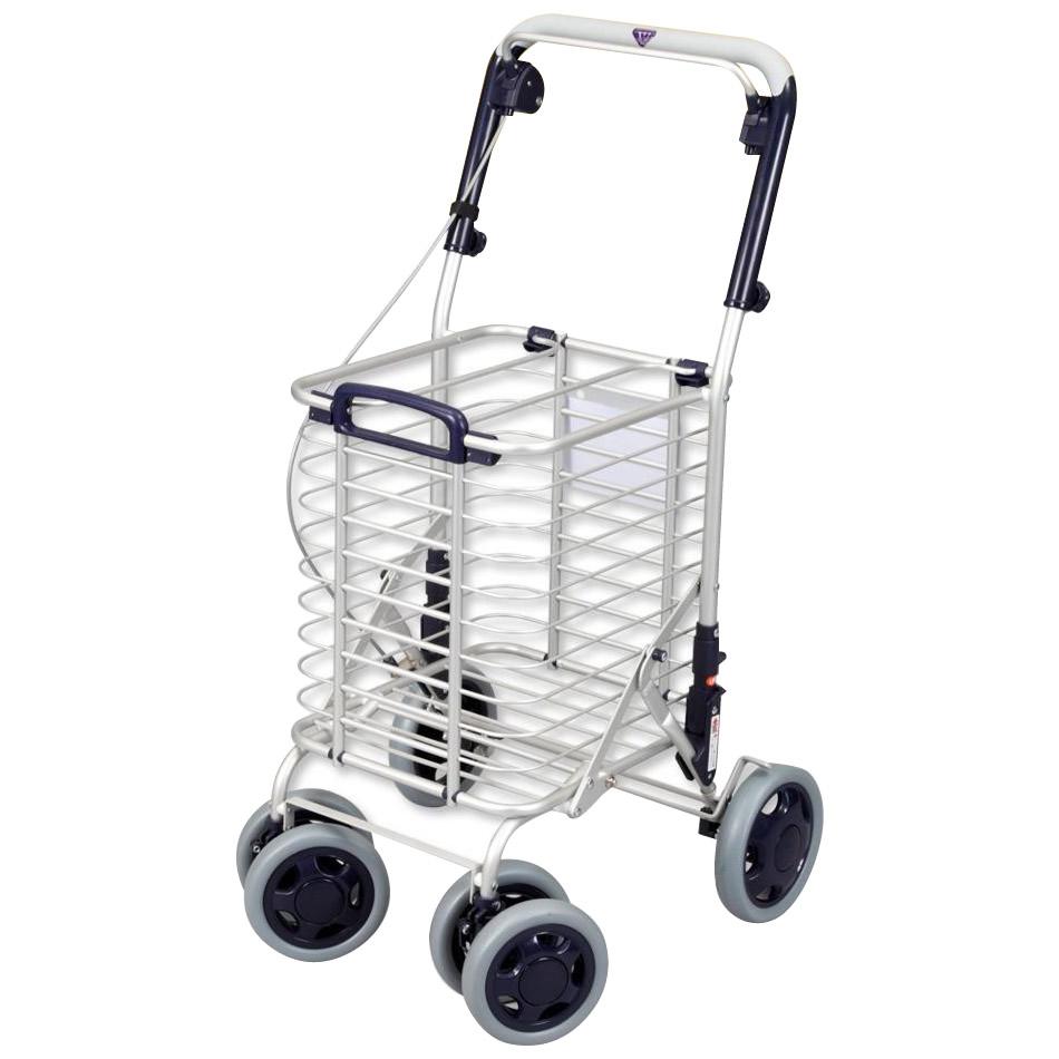 ●【送料無料】ワイヤーカート バッグ無し A-0212N「他の商品と同梱不可/北海道、沖縄、離島別途送料」