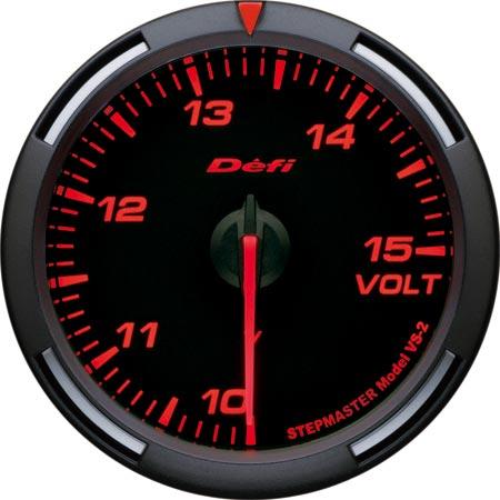 Defi レッドレーサーゲージ 60φ 電圧計 DF11902 【NF店】