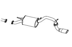 FUJITSUBO フジツボ マフラー AUTHORIZE S 車種:ミツビシ デリカ型式:MB15S 35082511-2 【NF店】