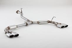 FUJITSUBO フジツボ マフラー AUTHORIZE S 車種:ニッサン エルグランド ハイウェイスター型式:PE52・PNE52 37017874 【NF店】