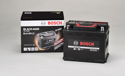 BOSCH ボッシュ 輸入車用 BLACK AGMバッテリー (AGMバッテリー) BLA-60-L2 【NF店】