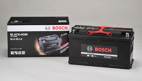 BOSCH ボッシュ 輸入車用 BLACK AGMバッテリー (AGMバッテリー) BLA-95-L5 【NF店】