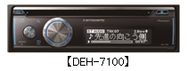 carrozzeria パイオニア カロッツェリア CD/USB/Bluetooth?/チューナー メインユニット DEH-7100 【NF店】