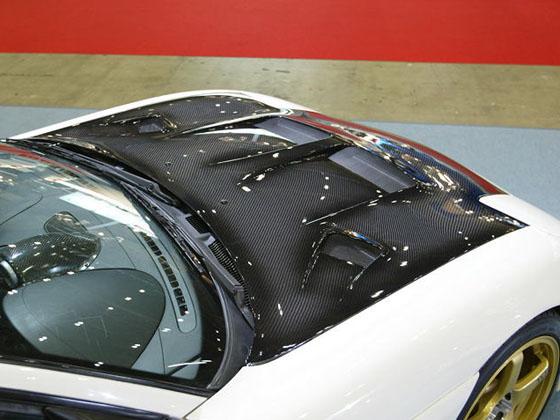 KNIGHT SPORTS ナイトスポーツ AERO COOLING BONNET カーボン エアロ・クーリング・ボンネット カーボン KDC-74102  RX-7 FD3S