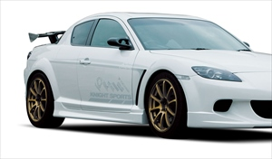 KNIGHT SPORTS ナイトスポーツ SIDE SKIRT R&L for RX-8(SE3P)  サイドスカート  KSE-73101 RX-8 SE3P 【NF店】