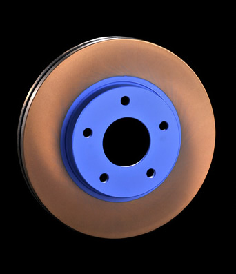 ENDLESS エンドレス ブレーキローター BASIC (1枚) フロント 【ER703-B】 インプレッサ H8.9~H9.8 GC8 セダン WRX/typeRA/typeRA Sti Ver.3 (F)4POT 【NF】