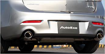 AutoExe オートエグゼ プレミアムテールマフラー (~H22.3生産車) 【MBA8Y00】 マツダスピードアクセラ BL3FW 【NF店】