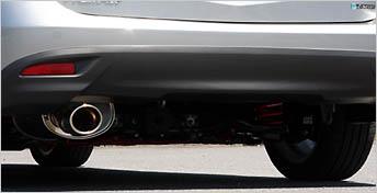 AutoExe オートエグゼ プレミアムテールマフラー (H22.4~生産車) 【MCW8Y00A】 プレマシー CWEFW・FFW 【NF店】