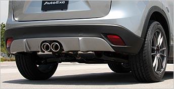 AutoExe オートエグゼ プレミアムテールマフラー センターデュアル(H22.4~生産車) 【MKE8Y60】 CX-5 KEEFW・AW 【NF店】